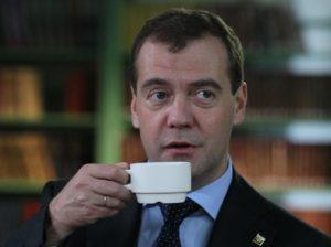 Премьер министр России Медведев