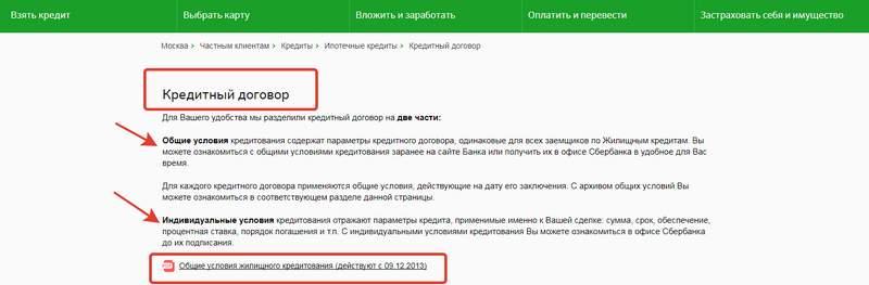 Договор ипотеки Сбербанка - образец в 2020 году