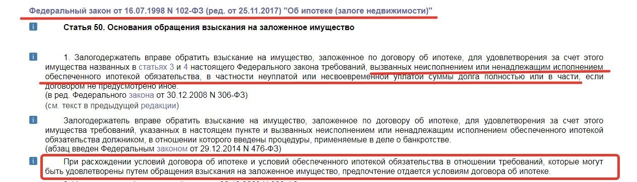 """Закон РФ """"Об ипотеке"""""""