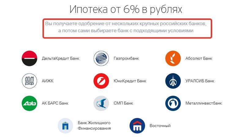 Условия ипотеки от банка Тинькофф