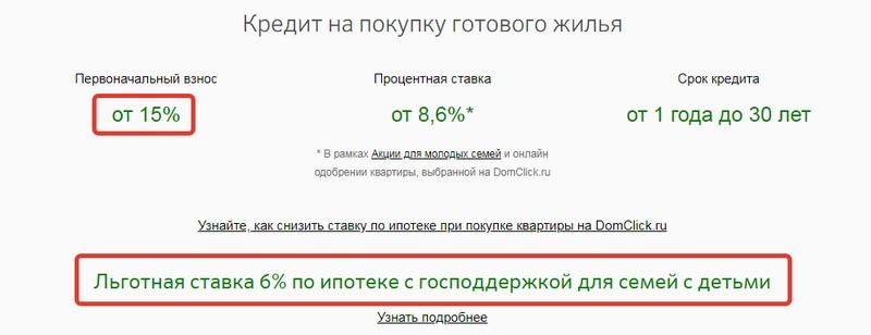 банк кредит сбербанк процентные ставки 2020